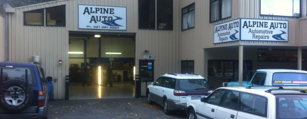 Alpine Auto Car Garage Workshop Queenstown